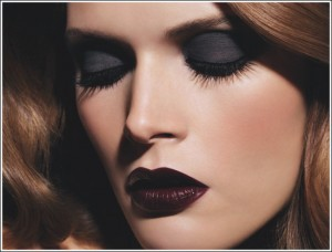 chanelblack 300x228 Autumn/Winter 09/10 Trend: Black Lips