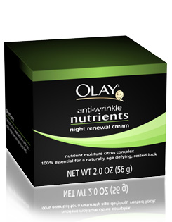 ge1021de Review: Olay Nutrients Night Renewal
