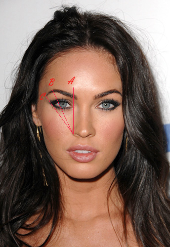 megan fox eyerbrows copy How To: Shape The Perfect Eyebrow