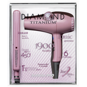 Breast cancer hair dryer chi