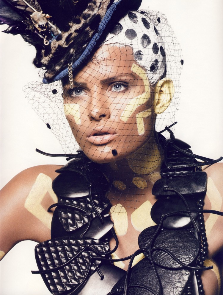 Keith Me 5 750x9901 Inspiring Makeup and Hair from Italian Vogue