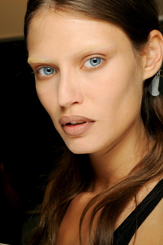 givenchy Spring/Summer 2010 Trend: Bleached Eyebrows