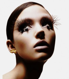 shu04 264x300 The Best False Lashes for Halloween