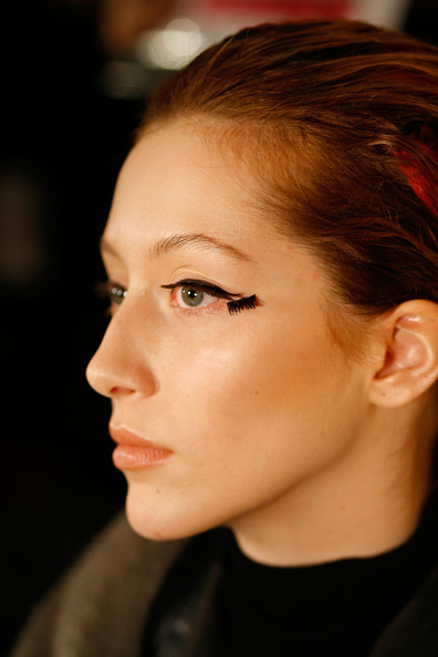 Cynthia+Rowley+Fall 2010 Makeup New York Fashion Week Makeup A/W 2010 Day 2