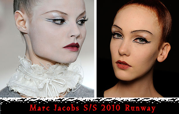 Marc Jacobs NY copy Trend Alert: Double Winged Eyeliner
