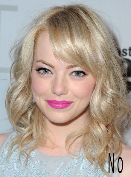 emma stone pale  How To: Look Good Under Fluorescent Lights
