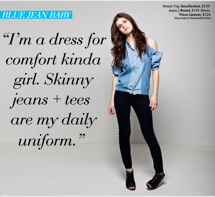 AD P2 New Work: Alexandra Daddario for Style File Daily