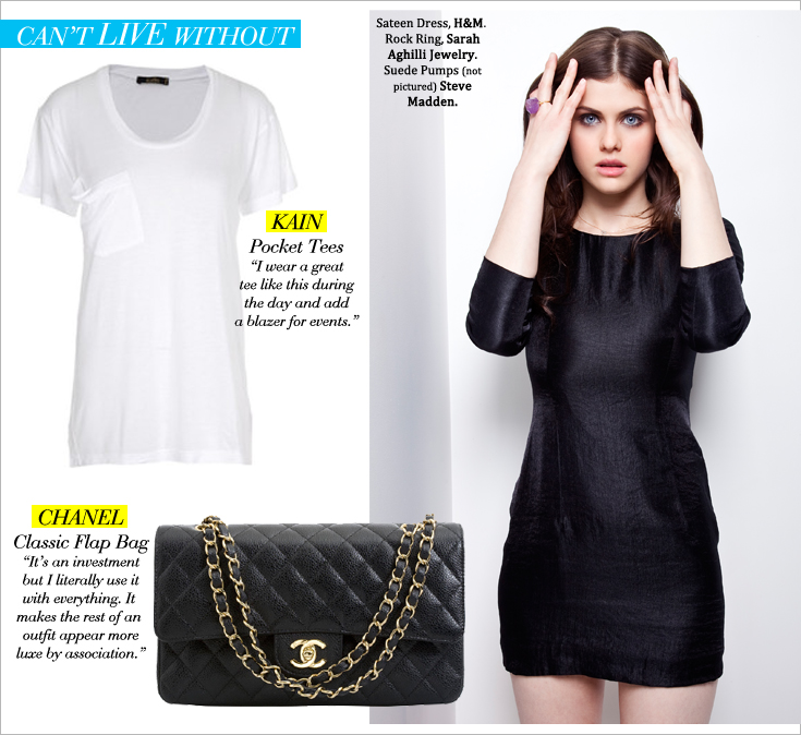 AD P3 New Work: Alexandra Daddario for Style File Daily 