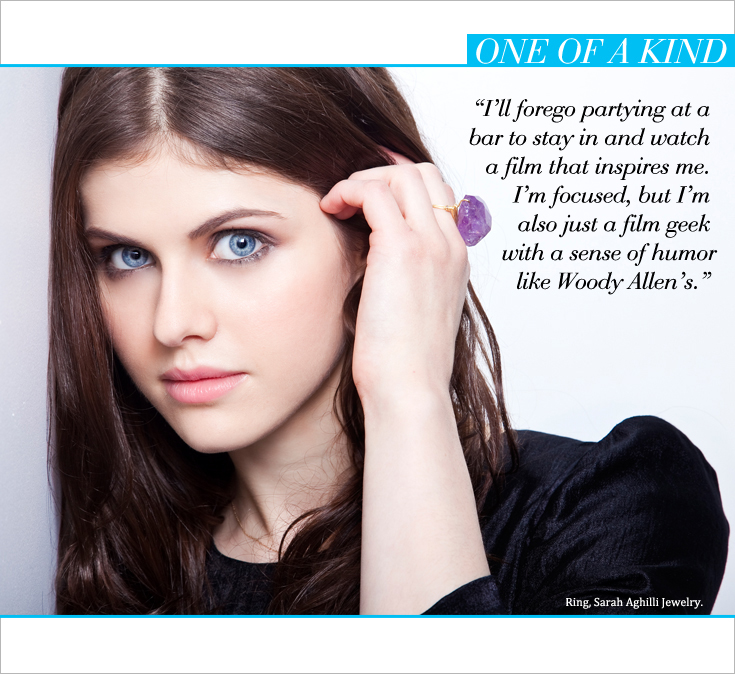 AD P4 New Work: Alexandra Daddario for Style File Daily
