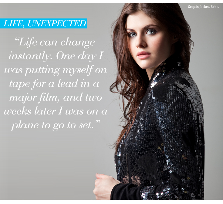 AD P5 New Work: Alexandra Daddario for Style File Daily 