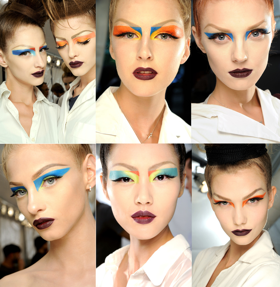 Dior Couture High Fashion Makeup Christian Dior Couture 2010: The Makeup and Hair