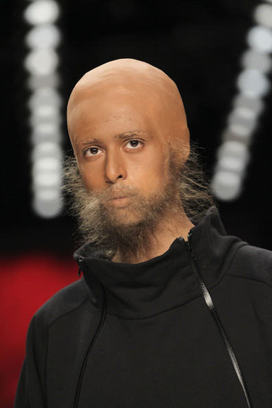 Patrick+Mohr+Show+Mercedes+Benz+Fashion+Week+6pE4jf2vwbCl Bald and Bearded at Berlins Fashion Week