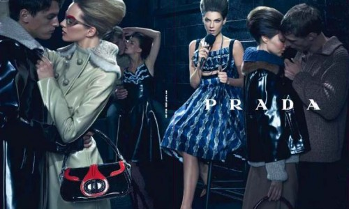 Prada FW womens wear by steven meisel Trend Alert: The 60s