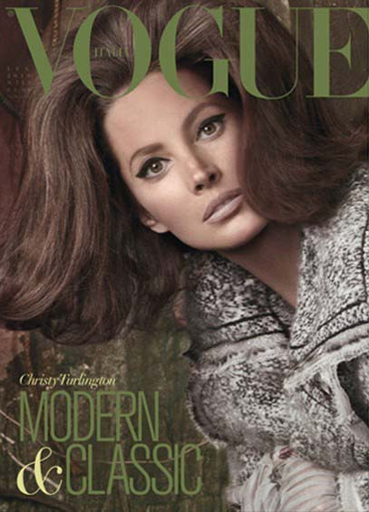 Vogue Italia by Steven Meisel Trend Alert: The 60s