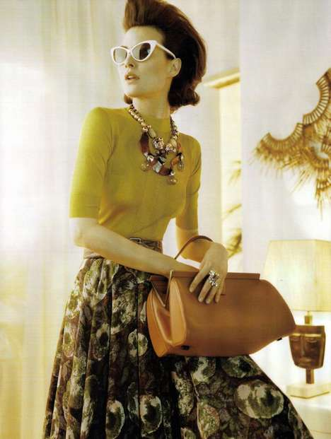 Vogue UK June 2010 Trend Alert: The 60s