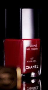 Chanel Rouge Fatal Exclusive Get the Look: Rachel Bilson's InStyle UK Nails