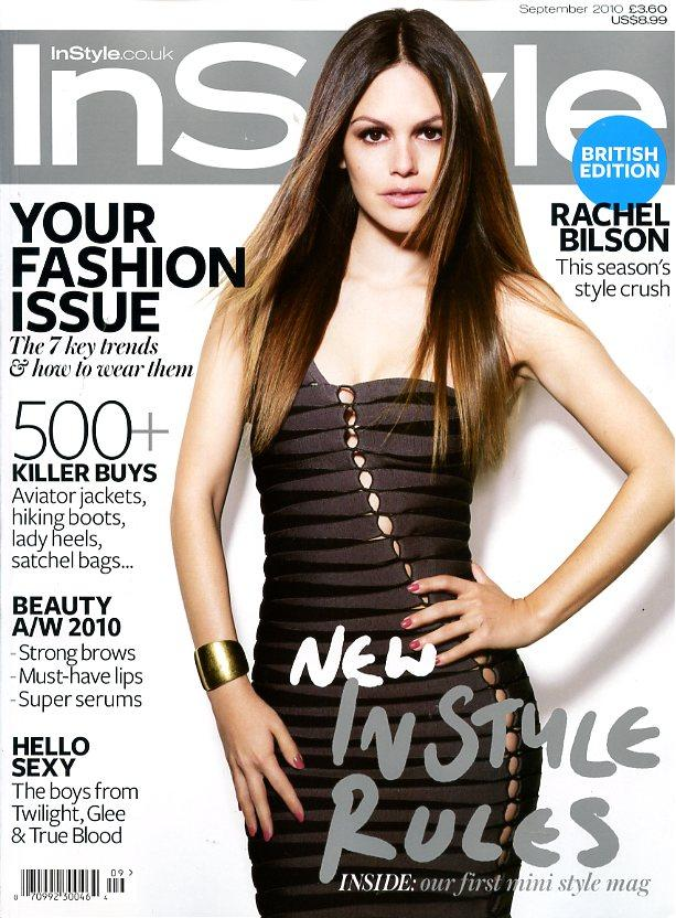 E1549 Exclusive Scoop: Rachel Bilsons InStyle UK Nails