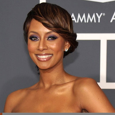 Keri Hilson Wearing Body Bling at the Grammy's