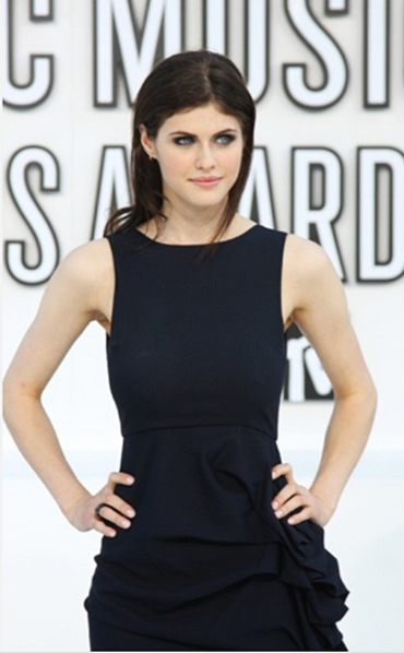 AlexandraDaddarioVmas New Work: Alexandra Daddario at the VMAs