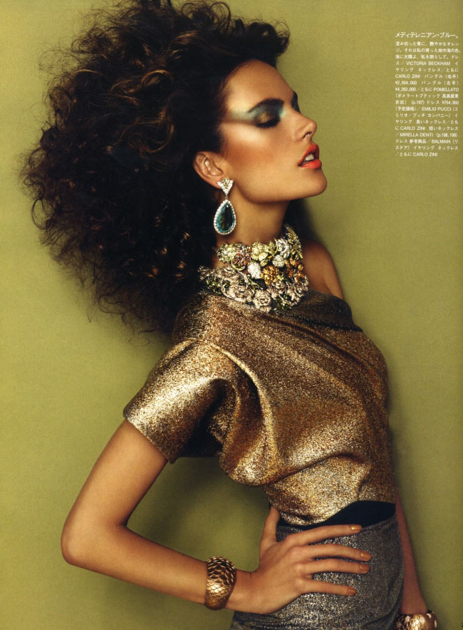 Adriana Lima Vouge Nippon 6 Alessandra Ambrosio for Vogue Nippon 