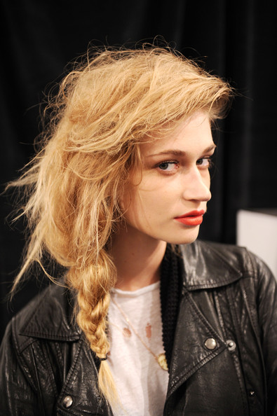 Lela+Rose+Backstage Orange Lips are Here to Stay!