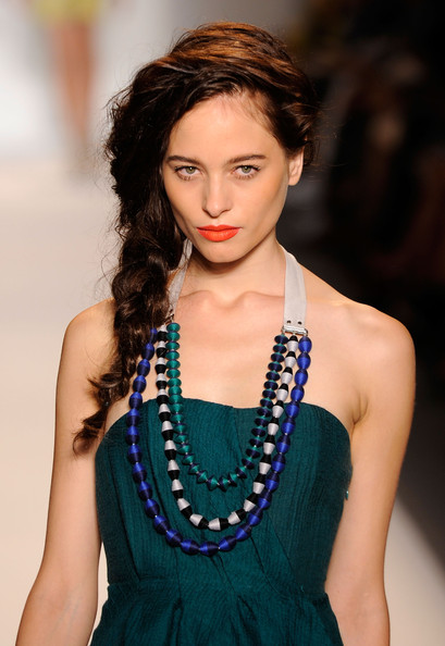 Lela+Rose+Runway+Spring+2011 Orange Lips are Here to Stay!