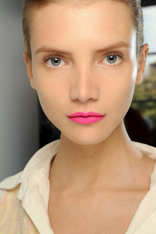 Jil Sander Lip Milan Spring/Summer 2011 Trend: Bold Lips