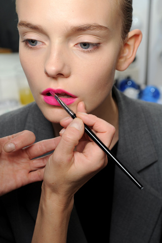 Jil Sander Milan Spring/Summer 2011 Trend: Bold Lips