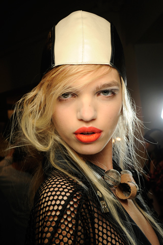 Marni Milan Spring/Summer 2011 Trend: Bold Lips