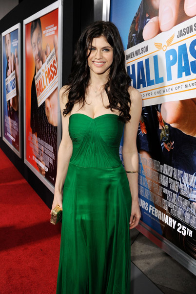 028 New Work: Alexandra Daddario at Hall Pass Premiere