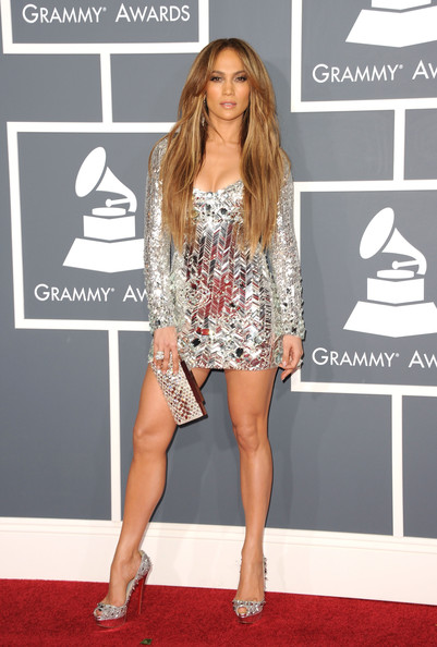 Lo Jennifer Lopez at the 2011 Grammys