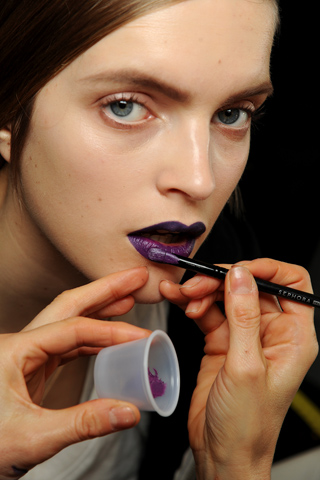 YSL2 Paris Fashion Week A/W 2011 Beauty Roundup