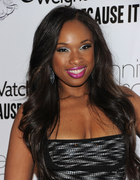 Jennifer+Hudson+Jennifer+Hudson Celebrity Makeup Trend SS 2011: Hot Pink Lips