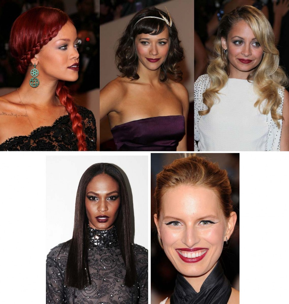 Met Gala copy 976x1024 The Met Gala 2011 Trend: Deep Red Lips