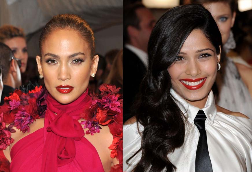 metgalaglossy The Met Gala 2011 Trend: Deep Red Lips