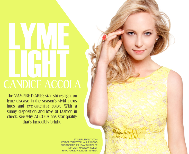 lymelight candice01 New Work: Candice Accola for Style File Daily