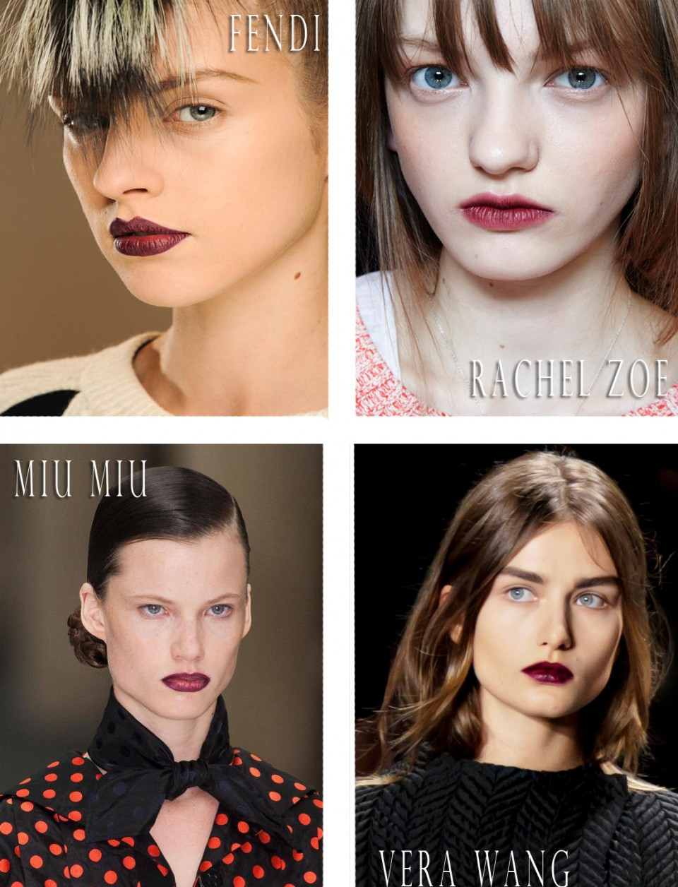 burgundy lips fall 2013